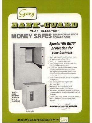 Gary Bank Guard TL15