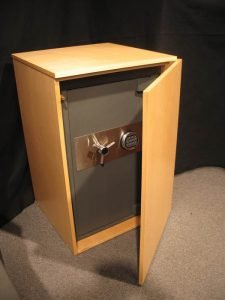 Concealment Cabinet 45 Degree Open