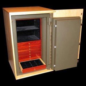 Concealment Cabinet Open