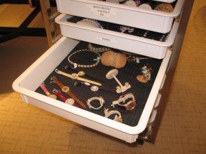 Various jewelry arranged