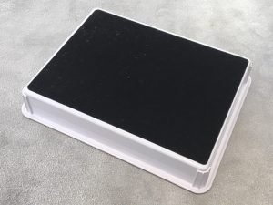 *New* full coverage self-adhesive pad on bottom of VCT35 trays